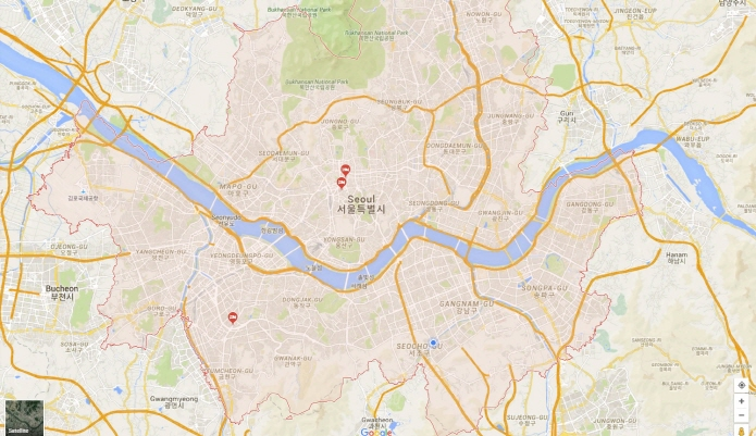 Google Beats Naver in Monthly Users of Mobile Maps in April