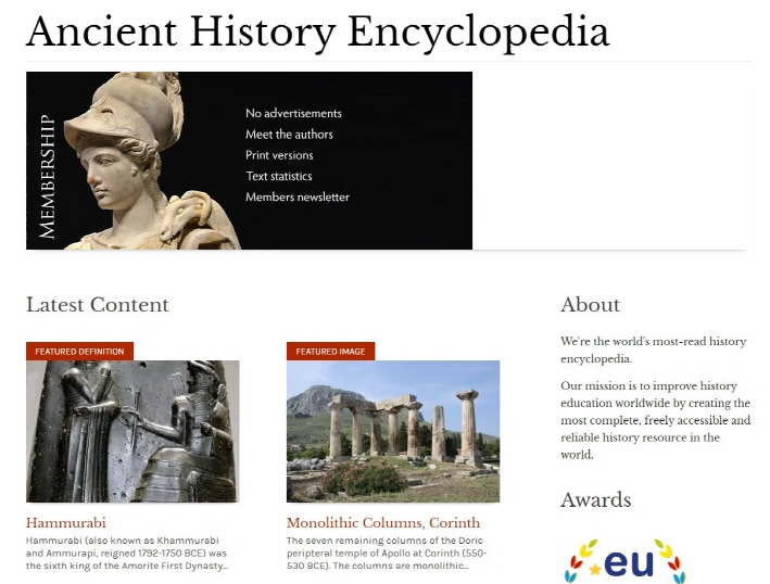 History Education Website Cites VANK Videos