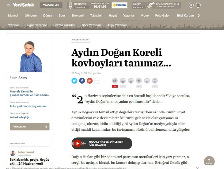 Turkish Newspapers Disparage Korean Model of Development Ahead of Elections