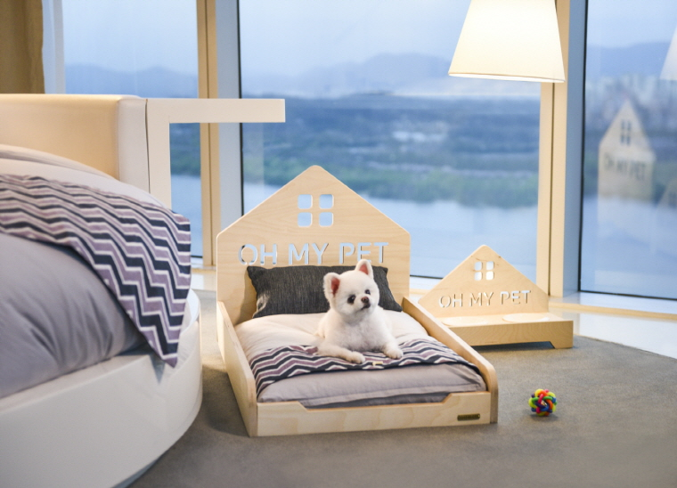 "Vista Walkerhill Seoul is currently operating ""Oh! My Pet"" for animals that check into the hotel with their owners. (image: Vista Walkerhill Seoul)"