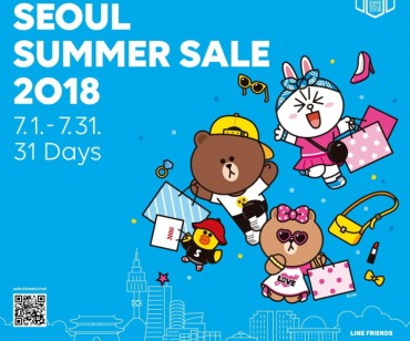 Special Summer Sale for International Visitors to Seoul