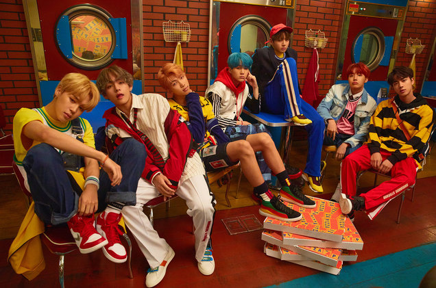 BTS' 'DNA' Video Tops 400 mln YouTube Views