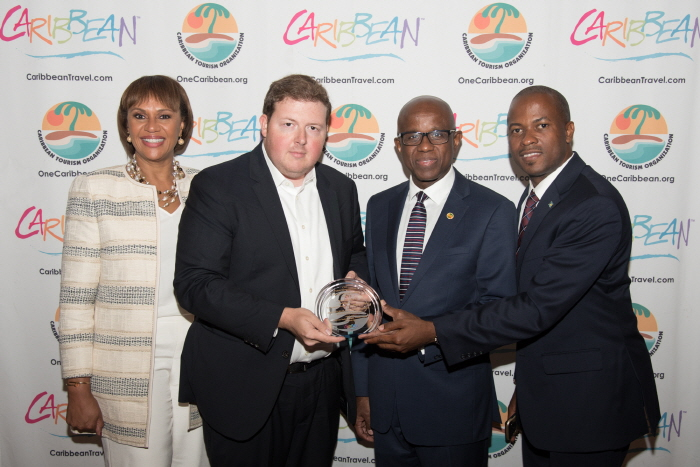 Bahamas Ministry of Tourism and Aviation Wins Best Feature in an Online Publication at 2018 Caribbean Tourism Industry Awards