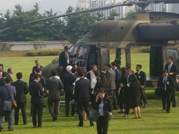 Philippine President Duterte Visits Defense Ministry