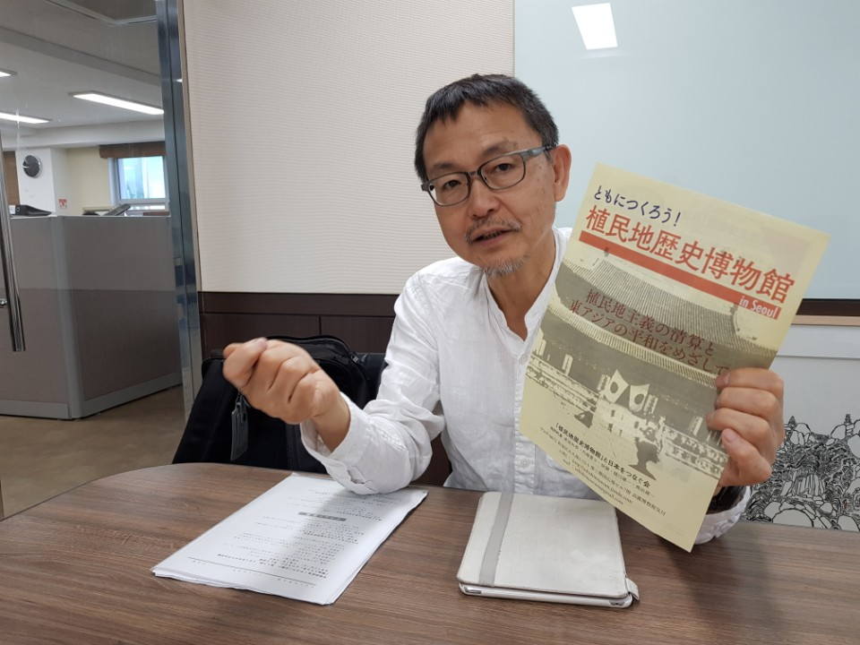 Yano Hideky is now serving as secretary general of a Japanese civic group named the Society Connecting the Colonization History Museum to Japan. (Image courtesy of Yonhap)