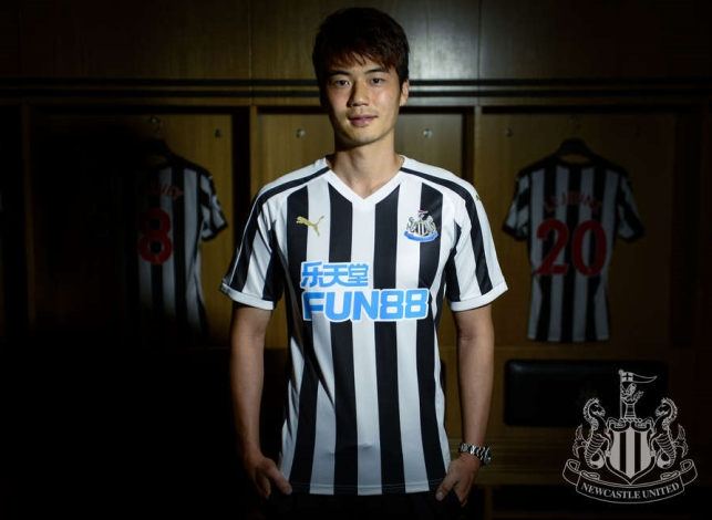 Newcastle announced a two-year deal with the 29-year-old midfielder on Friday (local time), making him the club's second signing of the summer. (Image courtesy of New Castle)
