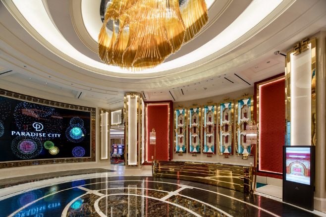 The casino at Paradise City (Courtesy of Paradise Group)