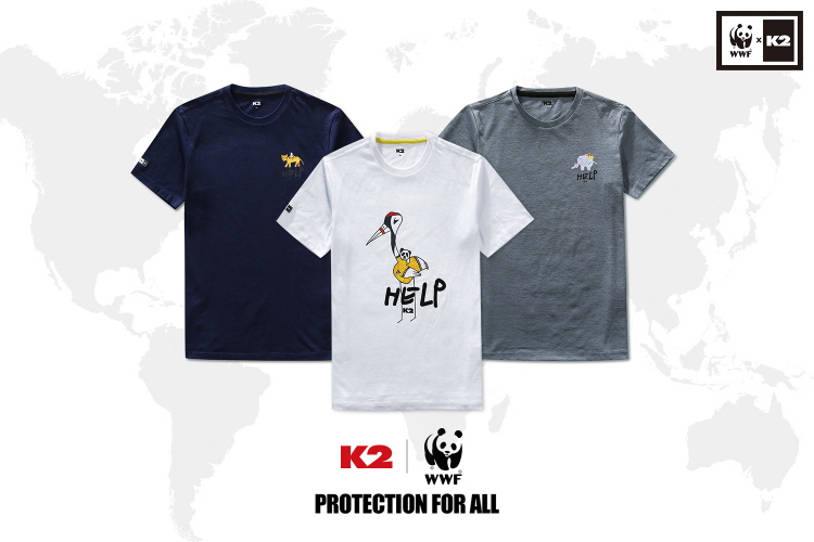 K2's WWF (World Wide Fund for Nature) Collection. (image: K2)