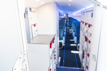 2018 Farnborough Air Show Marks Debut of Bombardier New ATMOSPHÈRE Cabin