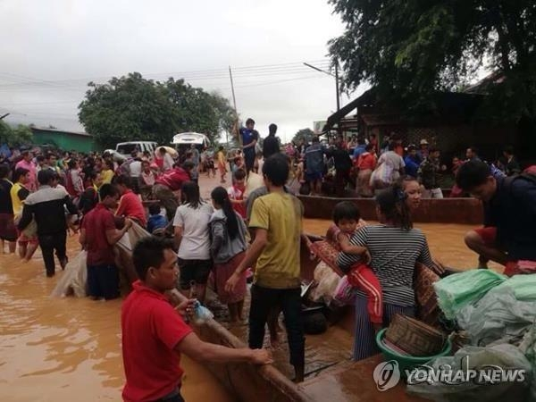 Is SK E&C Responsible for Laos Dam Collapse?