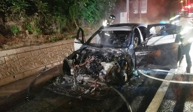 Another BMW 520d Catches Fire