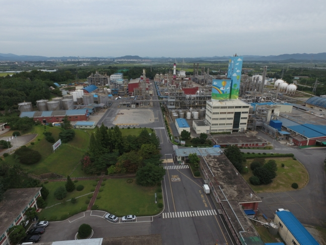 LG Chem's plant in Naju, 355 kilometers south of Seoul. (image: LG Chem Ltd.)