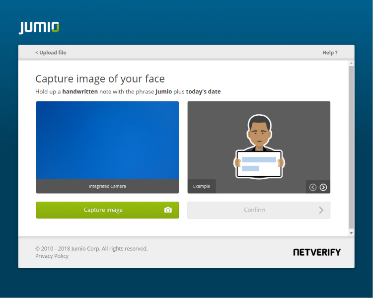 Jumio Introduces Liveness Detection for Web to Better Deter Fraud During Account Onboarding