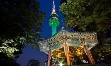 More Foreign Tourists Visiting N Seoul Tower
