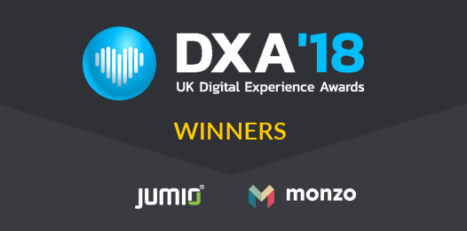 Double Win for Jumio and Monzo at the UK Digital Awards 2018