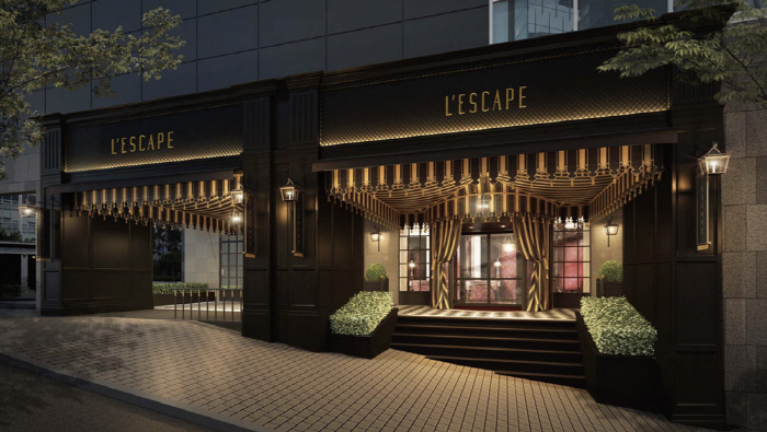 Shinsegae Chosun Hotel's boutique hotel L'Escape, which is slated to open on July 19. (image: Shinsegae Chosun Hotel Inc.)