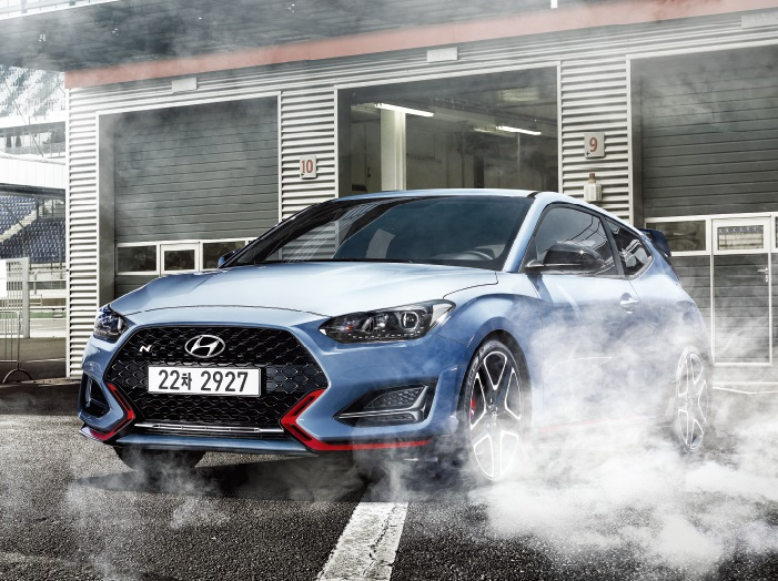 Hyundai Motor's high-end Veloster N hatchback. (image: Hyundai Motor Co.)