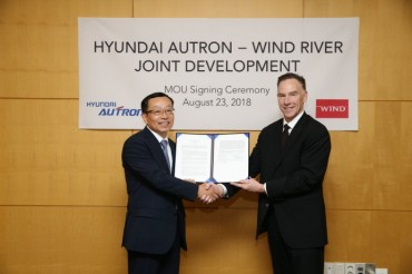 Hyundai-AUTRON Signs MOU with U.S. Firm for Future Car Platforms