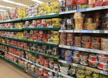 Market for Instant Cup Noodles Grows 20% with Increase of Single-Person Households