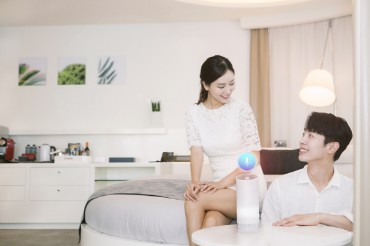SK Telecom Launches AI Service at Seoul Hotel