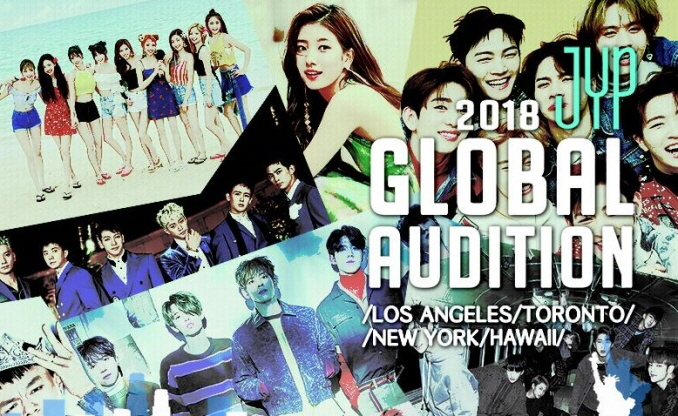 JYP Entertainment to Hold Auditions in Four North American Cities