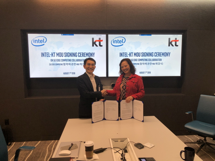 KT Teams Up with Intel, Qwilt for 5G Service