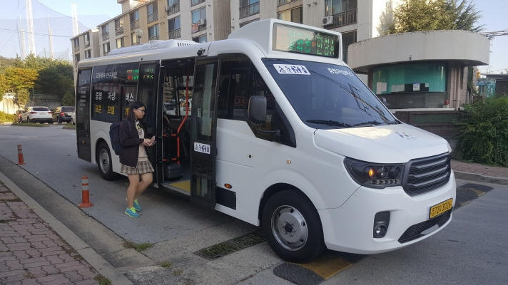 Seoul to Replace City Buses with Low-Floor Vehicles by 2025