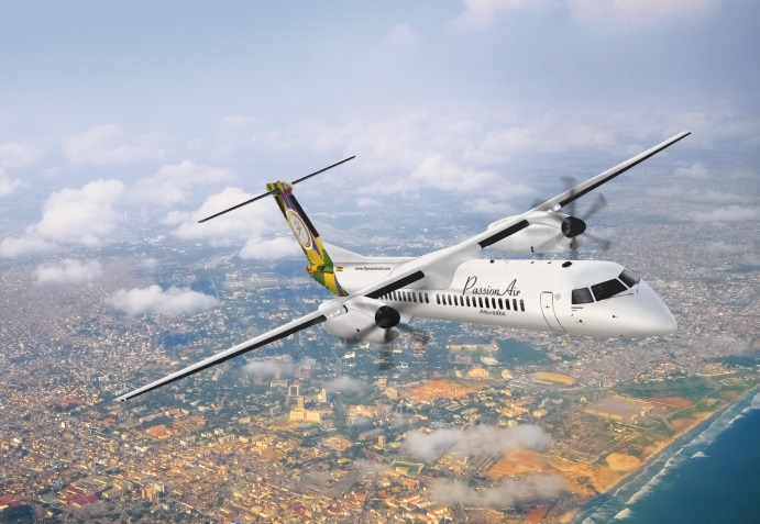 Q400 in PassionAir livery. (image: Bombardier Commercial Aircraft)