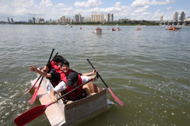 Paper Boat Regatta Coming to Han River