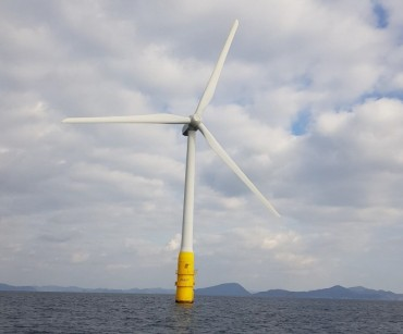 Ulsan's Seosaeng-myeon an Optimal Spot for Floating Wind Turbines