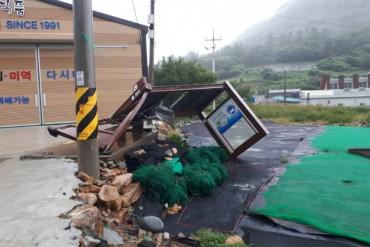 Typhoon Soulik Exits S. Korea, Leaves Less Damage than Expected
