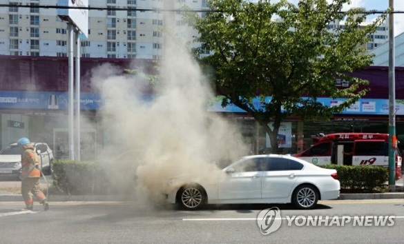 Another BMW Catches Fire Causing Serious Anxiety to Owners