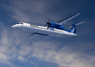 CORRECTION FROM SOURCE: Transport Canada Certifies 90-Seat Cabin Configuration for Bombardier's Q400 Aircraft