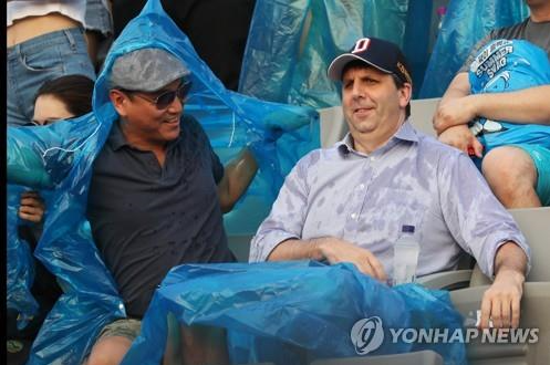 Former U.S. Ambassador to Seoul Mark Lippert was seen attending Psy's 'SUMMER SWAG 2018' show on Aug. 3, 2018.