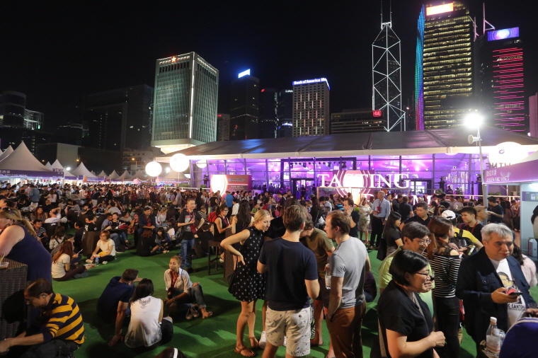 The 10th edition of the Hong Kong Wine & Dine Festival will be the largest ever. (image: Hong Kong Tourism Board)