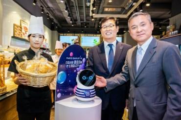 Paris Baguette Showcases Robots at its Bakeries