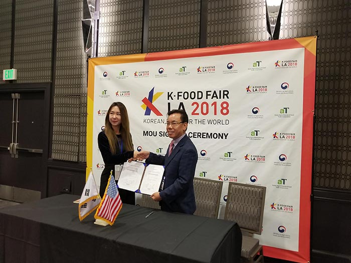"Korea Boosts ""K-Fresh"" Agro-Exports to the U.S."