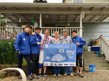 College Students Cycle 3,500 Kilometers in North America to Promote Awareness About Dokdo