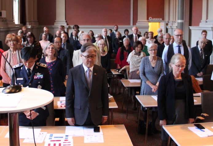 Korean Embassy in Sweden Hosts Event to Thank Korean War Veterans