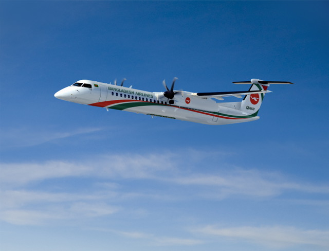 Biman Signs Order for Three New Bombardier Q400 Aircraft