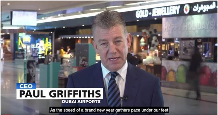 Dubai Airports CEO Paul Griffiths. (image: Dubai Airports)