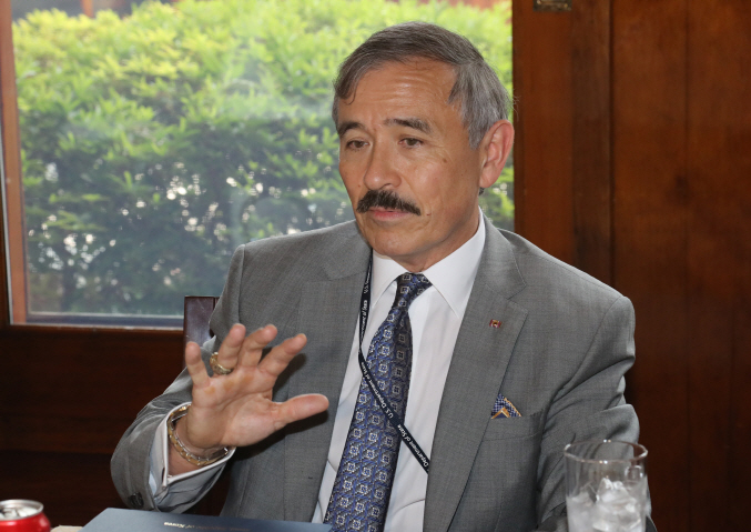 Harry Harris, the U.S. Ambassador to South Korea (image: Yonhap)