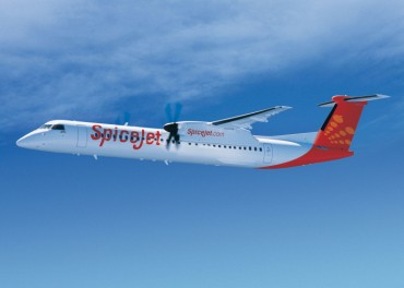 Bombardier Delivers First 90-seat Q400 Aircraft to SpiceJet