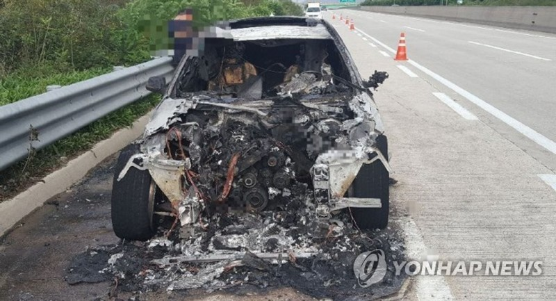 Two BMW Cars Catch Fire in S. Korea
