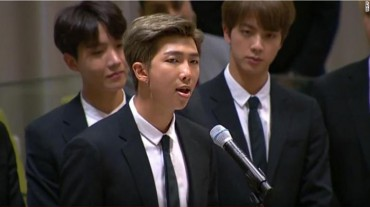 BTS at U.N.: Find Your Name And Voice by Speaking about Yourself