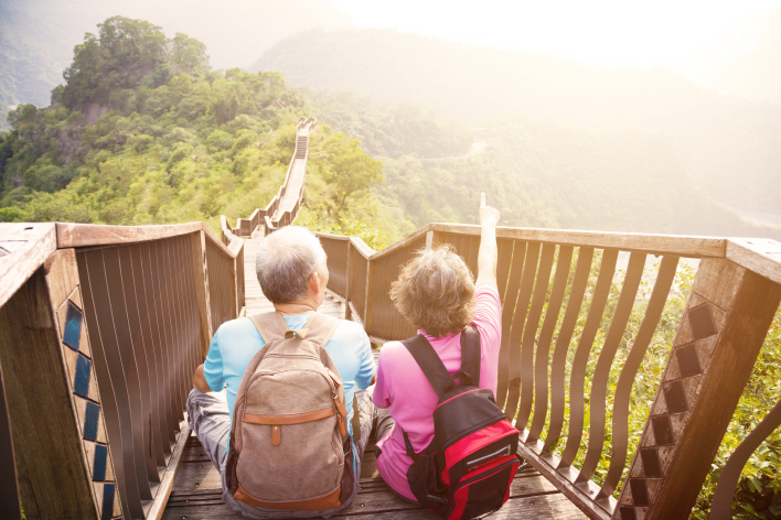 51.2 percent of senior citizens stated that they predicted they could live out their lives without economic worry. (image: Yonhap)