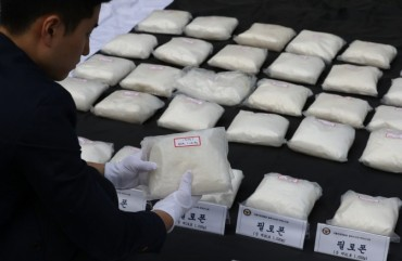 Police Record Largest-Ever Bust of Drugs Smuggled into S. Korea