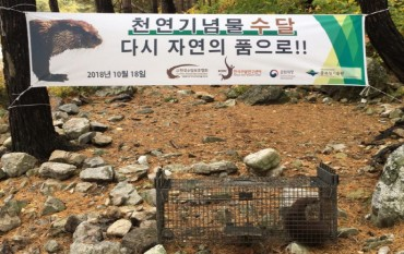 Rescued Otter Returns Home to Soyang River