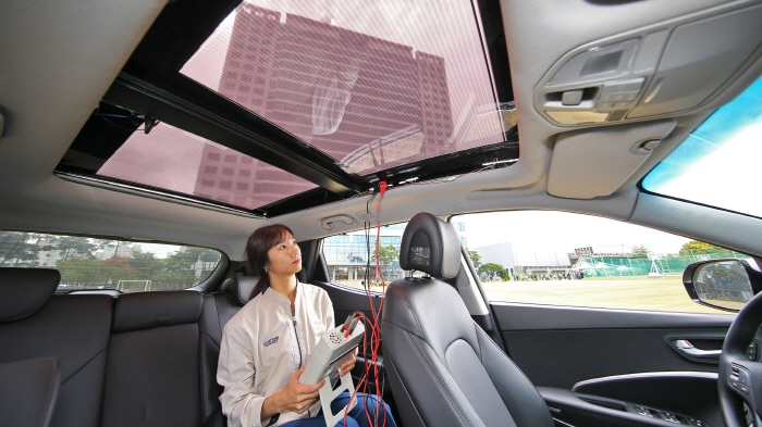 Hyundai Develops Solar Charging System for Vehicles