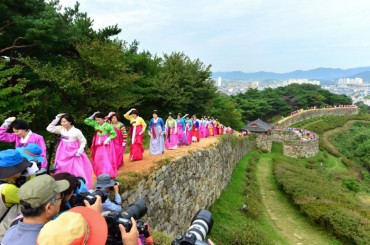 Moyang Fortress Festival Begins in North Jeolla's Gochang County